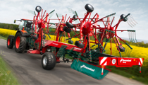 New Four Rotor Rake from Kverneland
