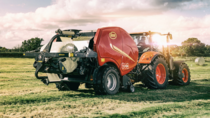 Smart controls for FastBale non-stop baler wrapper